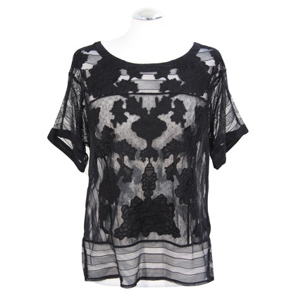 Karen Millen Lace top in black