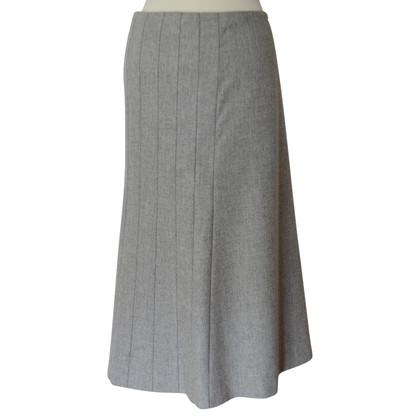 Jil sander slim jupe maxi gris quip e acheter jil sander slim jupe maxi gris quip e second for Comcuisine equipee d occasion