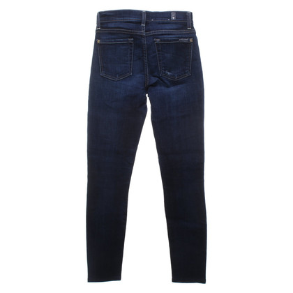 7 For All Mankind Jeans met lichte wassing