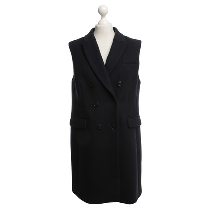 Closed Vest in donkerblauw