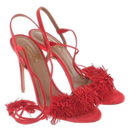 Aquazzura Sandals in red