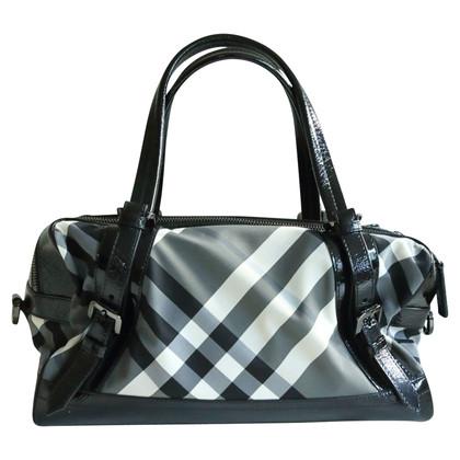 Burberry Bowling bag with Nova check pattern