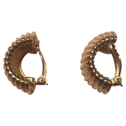 Givenchy Gold-plated clip earrings