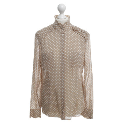 St. Emile Blouse with dot pattern