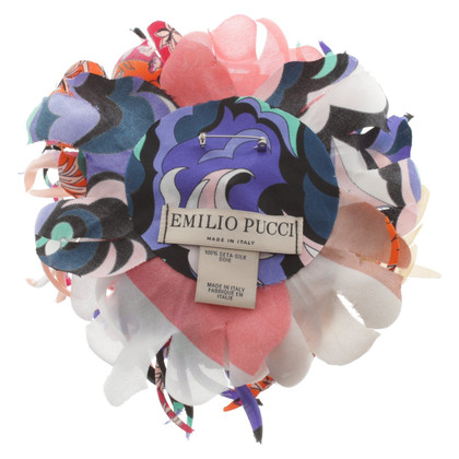 Emilio Pucci Brooch with floral decor