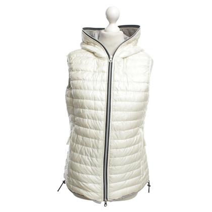 Duvetica Down vest in cream