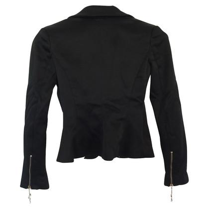 Elisabetta Franchi zwarte jas
