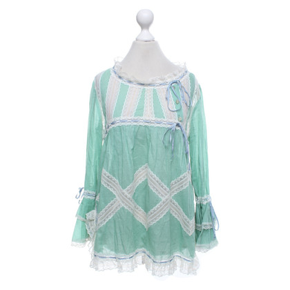 Anna Sui Blouse in green