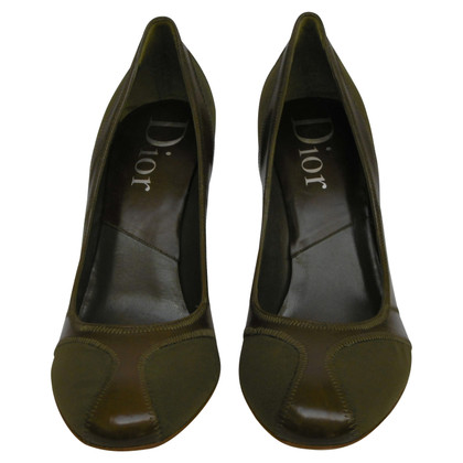 Christian Dior Ripst leather pumps