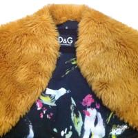 D&G Faux fur bolero jacket