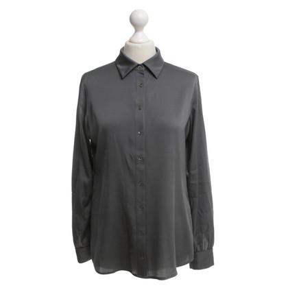 Repeat Cashmere Bluse in Grau