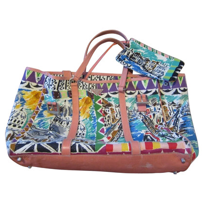 Prada Handbag with pattern