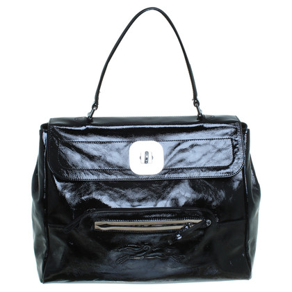 Longchamp Patent leather handbag
