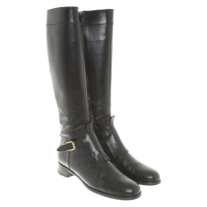 Rupert Sanderson Leather boots in black