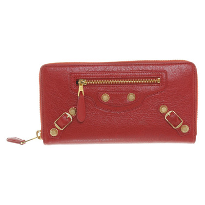 Balenciaga Wallet in het rood
