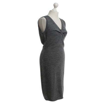 Dolce & Gabbana Grijze gebreide jurk