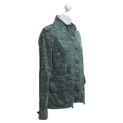 Rich & Royal Jacke mit Camouflage-Muster