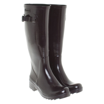 Aigle Rubber boots in purple