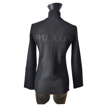 Prada Vest met geborduurd logo