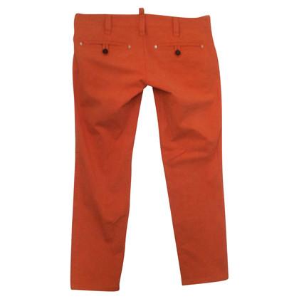Dsquared2 oranje broek