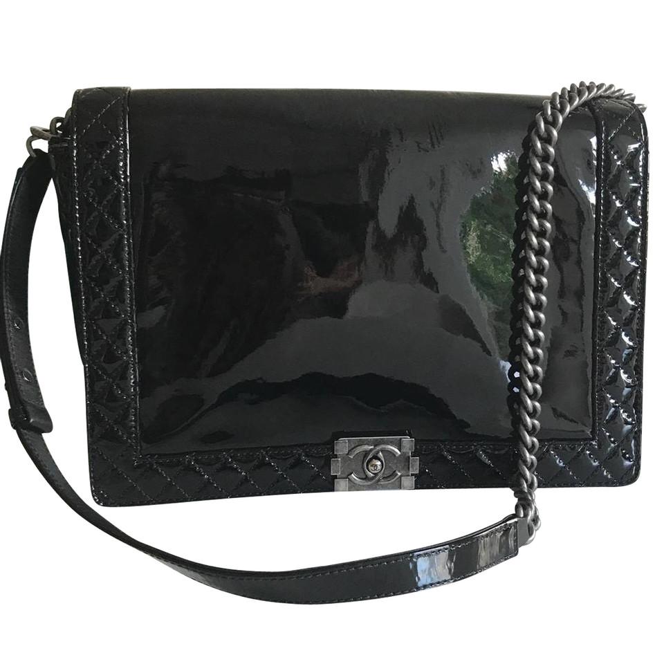 chanel boy bag large buy second hand chanel boy bag large for 3. Black Bedroom Furniture Sets. Home Design Ideas