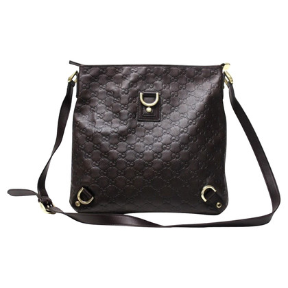 Gucci Shoulder bag with Guccissima embossing
