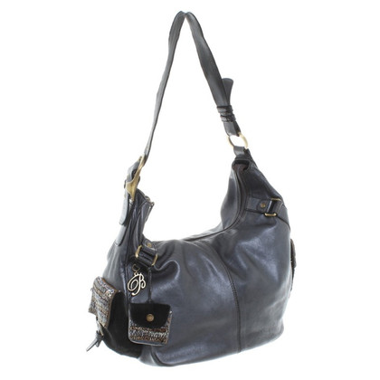Blumarine Black leather handbag