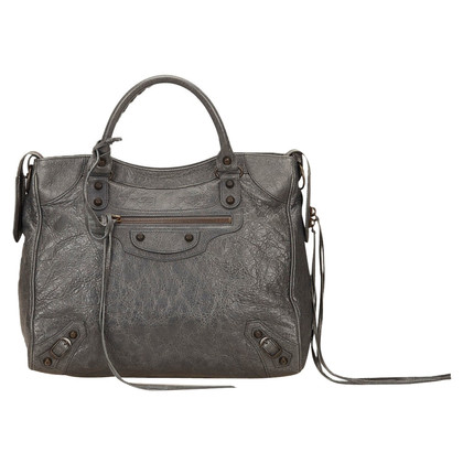 Balenciaga Balenciaga Leather City Handbag