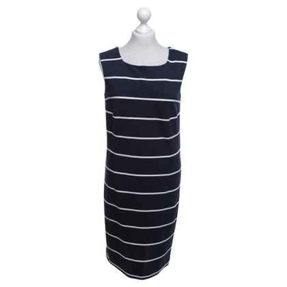 Riani Kleid in Dunkelblau/Weiß