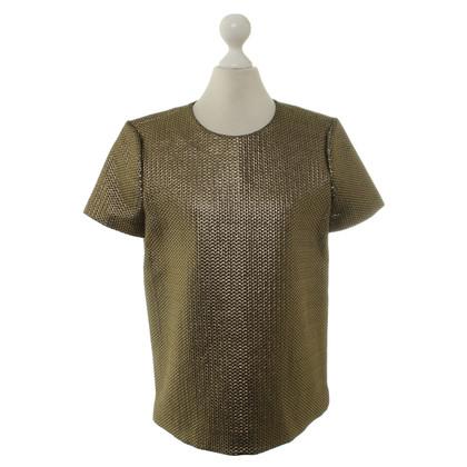 Tara Jarmon Gold-colored T-Shirt