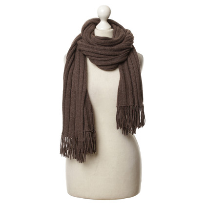 Allude Cashmere fringe scarf