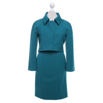 Alberta Ferretti Costume in turquoise