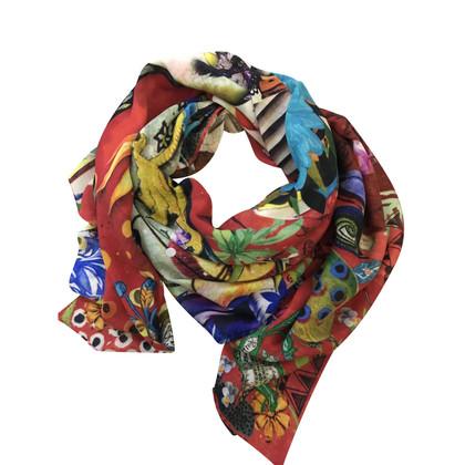 Christian Lacroix Sjaal gemaakt van zuiver scheerwol