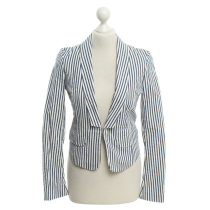Baum und Pferdgarten Blazer with striped pattern