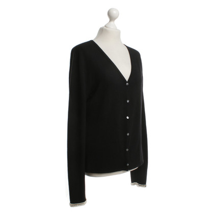 Allude Strickjacke in Schwarz