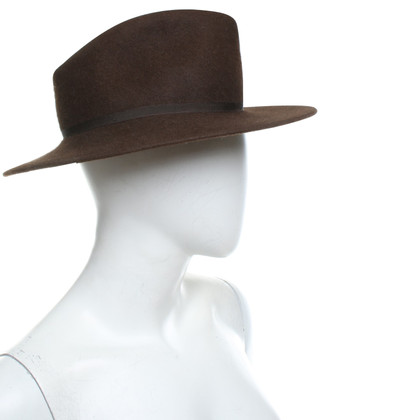 Borsalino Hat in brown