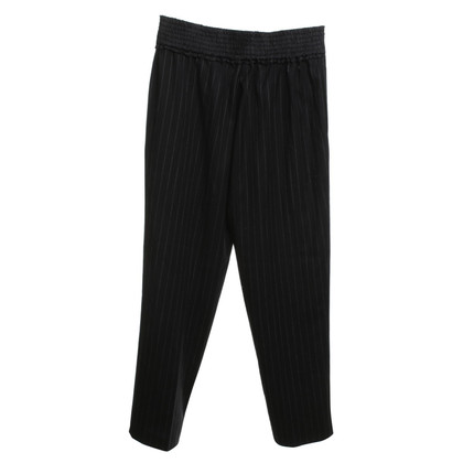 Sandro trousers with pinstripe