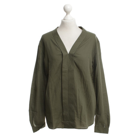 Hugo Boss Bluse in Khaki Khaki