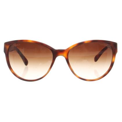 Chanel Sunglasses with shieldpatt pattern