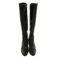 Fendi Boots patent leather