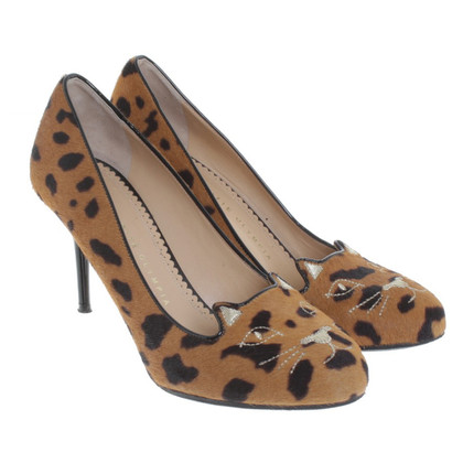 Charlotte Olympia pumps in pelle