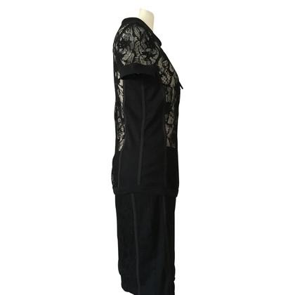 Marc Cain pizzo nero Costume