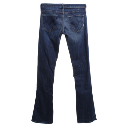 Mother i jeans bootcut con lavaggio