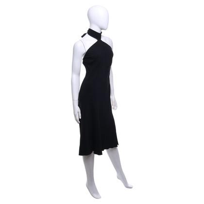 Pinko Neckholder-Kleid in Schwarz