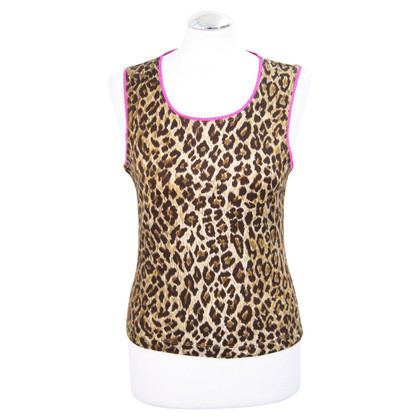 Dolce & Gabbana top with animal print