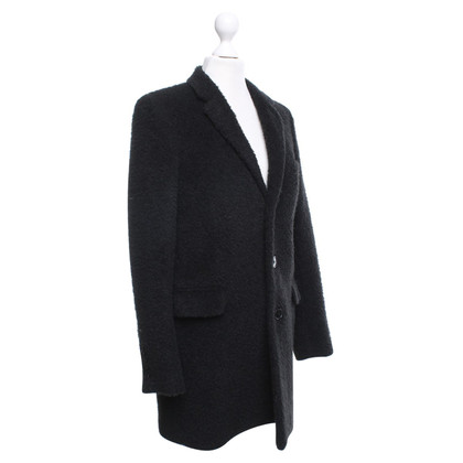 Saint Laurent Cappotto in nero