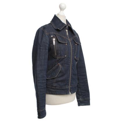 Moschino Jeansjacke mit vielen Taschen