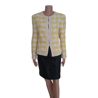 Escada Escada Boucle jacket with beads