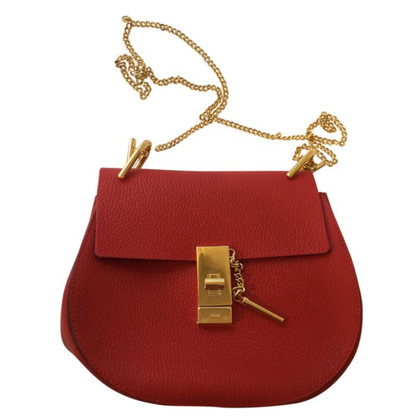 "Chloé ""Drew Shoulder Bag"" in Rot"