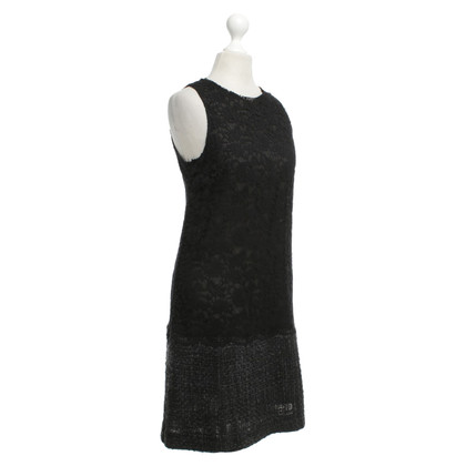 Dolce & Gabbana Lace dress with a wool skirt